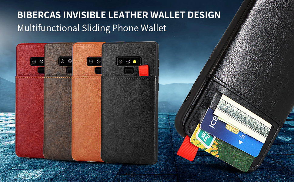 BIBERCAS INVISIBLE LEATHER WALLET DESIGN