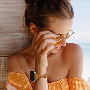 Fitbit Versa 2 Lite Special Edition Women Girls Strap Replacement Scrunchies Wristband Accessories