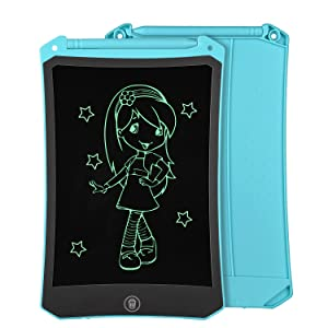 blue lcd writing tablet 8.5