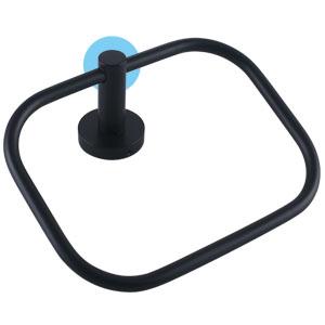 Display Black Washer of Towel ring