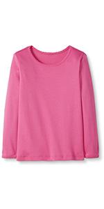 Girls Pima Cotton Long Sleeve Shirt