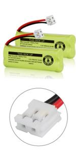 iMah Ryme B5-1 BT18443/BT28443 2.4V 500mAh Battery Pack