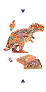 280Pcs Dinosaur world Puzzles