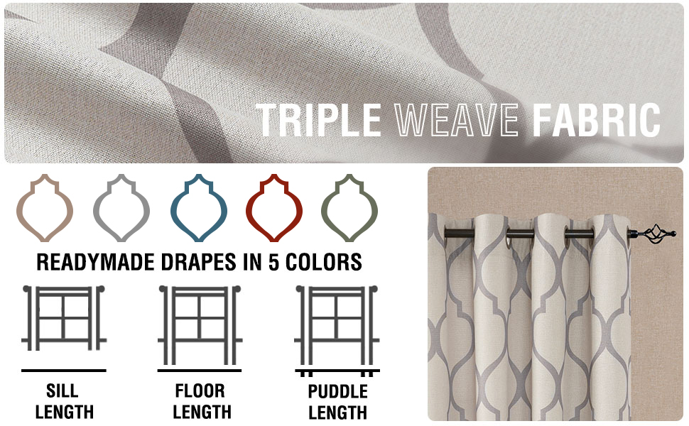 fabric length size options