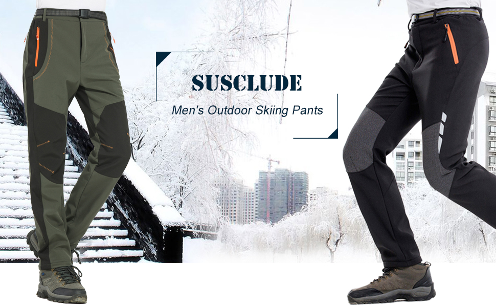 Susclude Outdoor sports pants