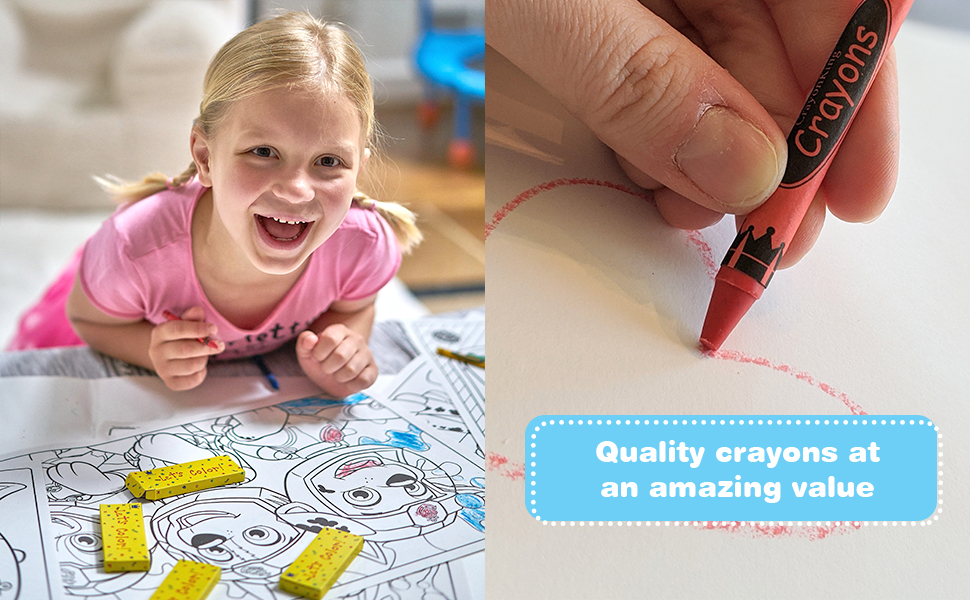 art artist crayon colors color bright birthday gift kid artsupply toddler schools school perfect