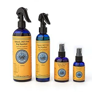 essential oil organic bug spray