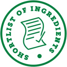 Short list of ingredients