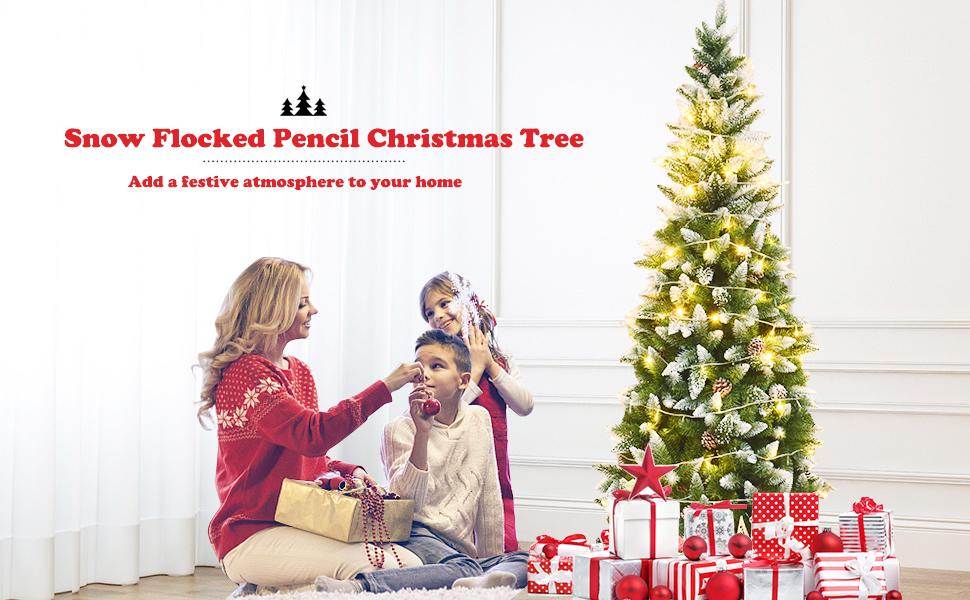 Artificial Pencil Christmas Tree