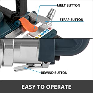 Pneumatic-strapping-tool