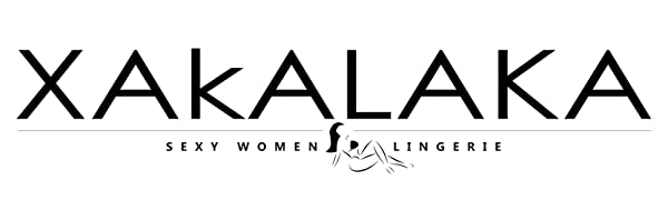 XAKALAKA Plus Size Lace Babydoll Lingerie Chemise Sleepwear