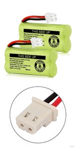 iMah Ryme B1-4 BT183342/BT283342 2.4V 400mAh Battery Pack