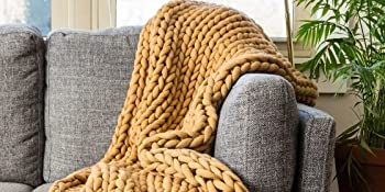 Chunky Knit Throws, Donna Sharp, Lodge, Contemporary, Coastal, Bedding