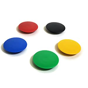 Colored Magnets For Glass Boards