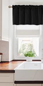 soft valance curtains