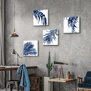 palm tree leaf canvas prints