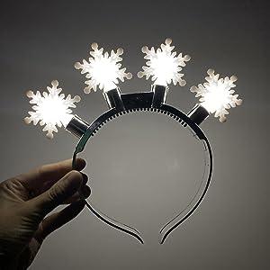 snowflake hairband toy