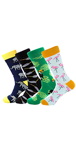 vibrant funny dress socks