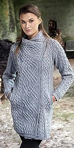 Z4631, Aran Crafts, Irish, Sweater