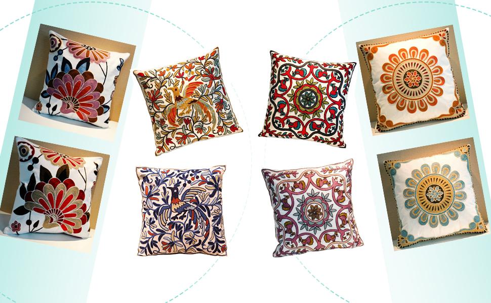 boho pillow cover neutral throw pillows farmhouse bed decorative pillows sofa pillow covers