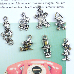 tiny metal letters tiny metal butterflies tiny metal animals tiny metal trinkets