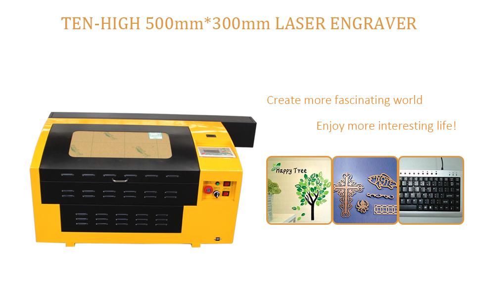 60W laser machine