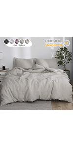 linen cotton duvet cover