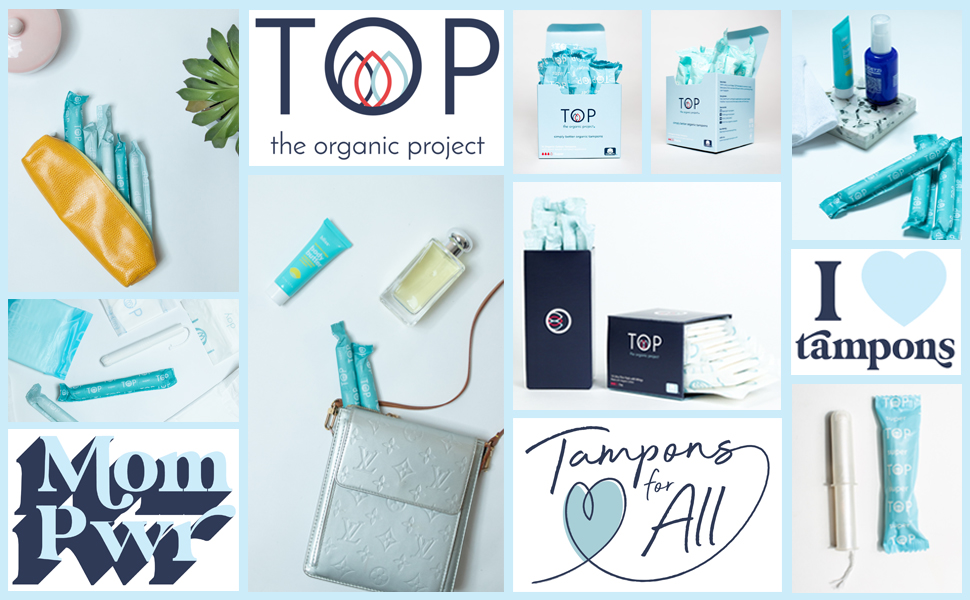 tampon collage all natural plant based tampons for all mom created made teens girls
