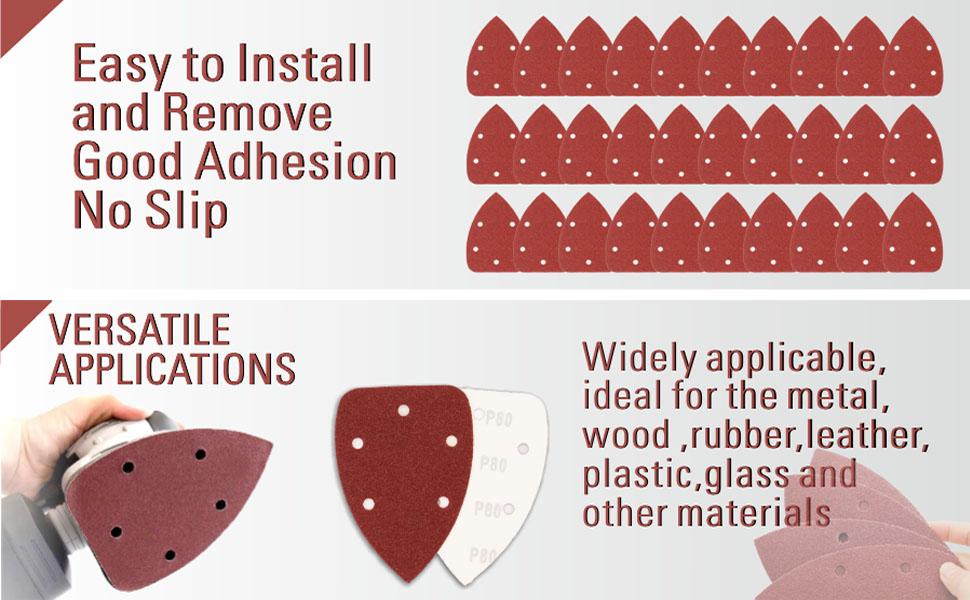 sandpaper mouse sandpaper mouse detail sander sandpaper for mouse sander  multitool sanding pads