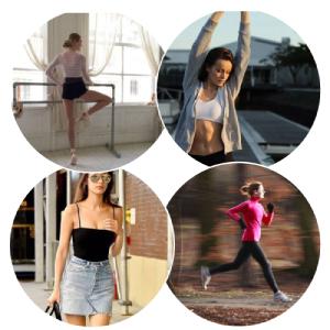 gym yoga fitness running crop tops