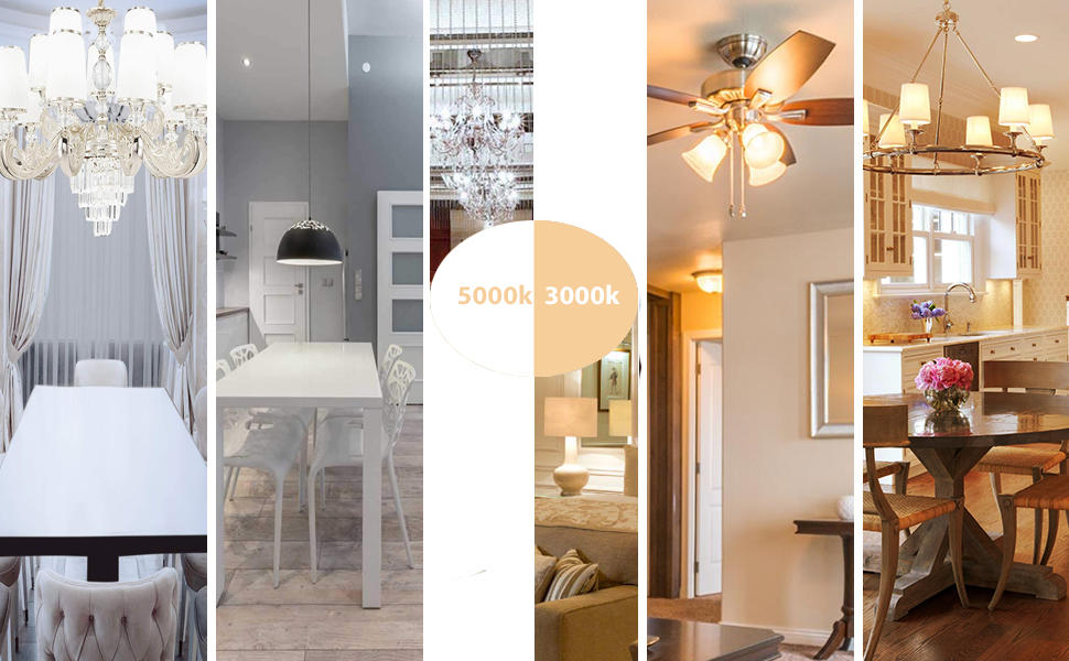 for Home Lighting - Living Room, Kitchen,for Indoor/Outdoor Downlight Recessed Can Light,