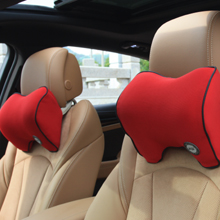 red car support pillow