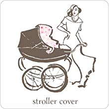 STROLLER COVER CLOTH NEW BABY BEBE LICORNE UNICORN BLANKET BLANKIE MUSLIN MUM BABY SWADDLE WRAPING