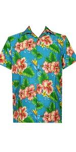 Floral Print Hawaiian Shirt