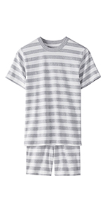 Kids Organic 2-Piece Short Sleeve Pajama Set