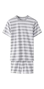 Kids Organic 2-Piece Short Sleeve Pajama Set