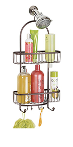 Shower Caddy for Hand Held Shower Head and Hose