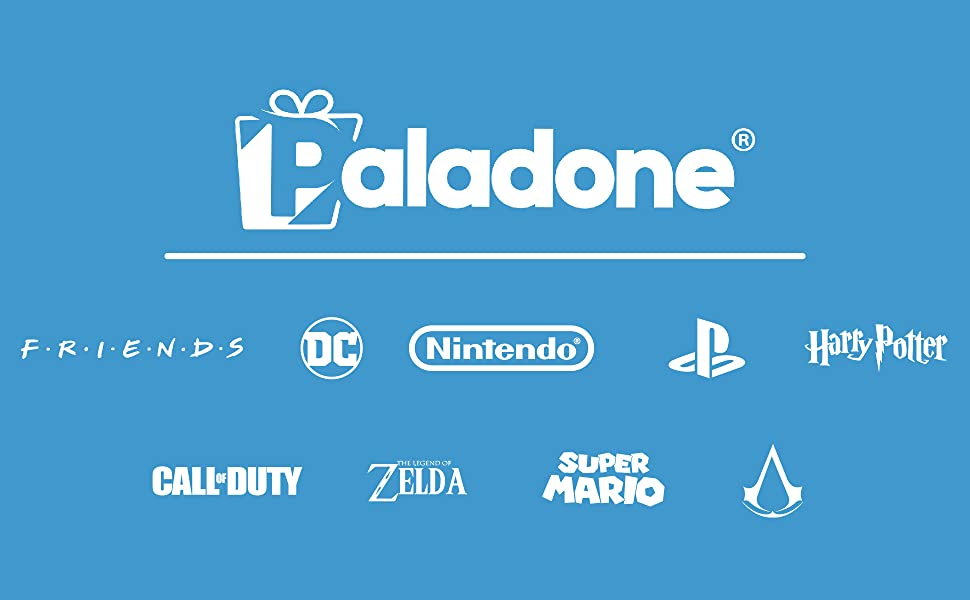 Paladone and other Logos