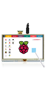 "5"" monitor for raspberry pi"