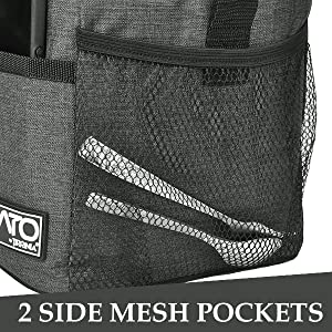 Side Mesh Pockets