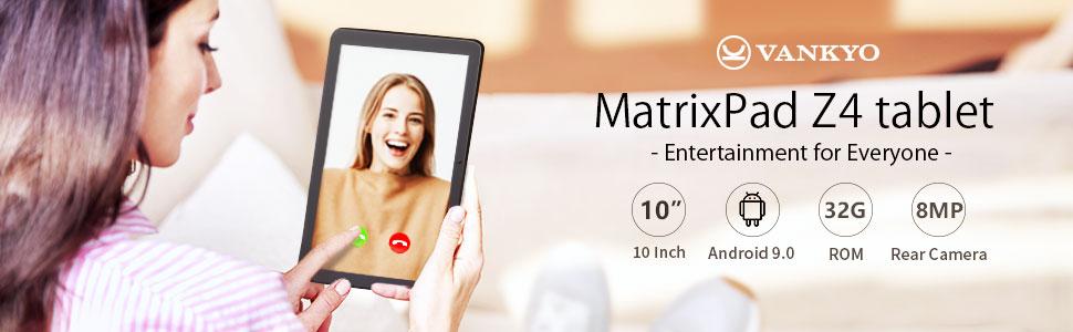 Matrixpad Z4 tablet