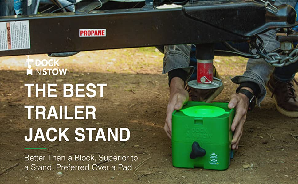 Dock N Stow trailer dock stabilizer leveler