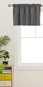 blackout valance curtains