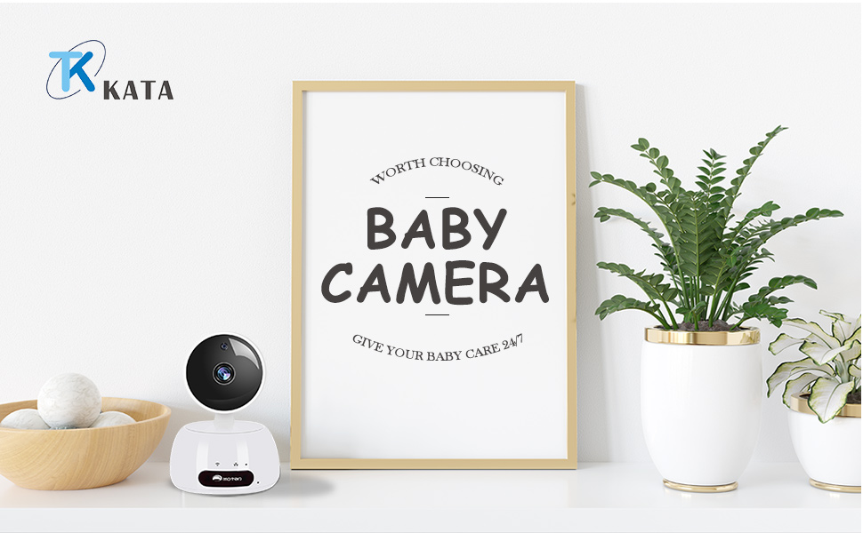 Baby monitor with Two-Way Audio