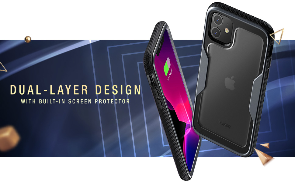 i-Blason Magma Clear Protective Case for iPhone 11