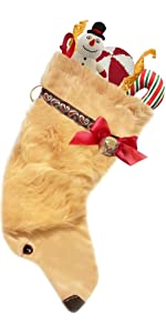 Golden Retriever Retrievers  pets dog stocking christmas gifts holiday decoration
