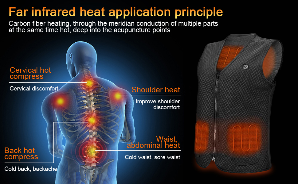 electric battery heated vest