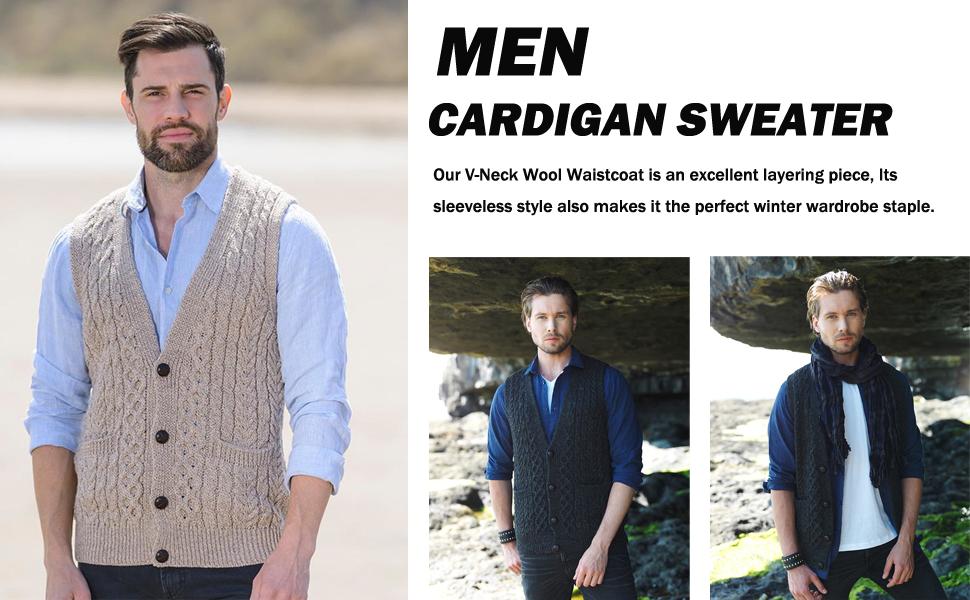 men sweater vest