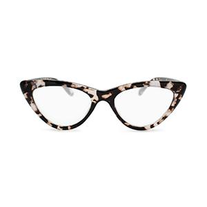 Cat eye reading glasses for women white tortoise shell
