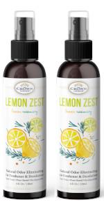 all natural lemon zest air freshener